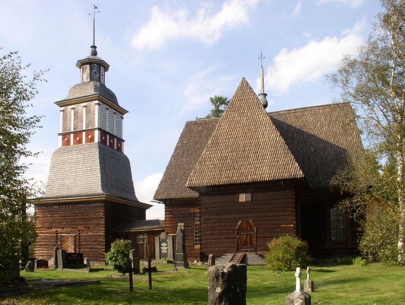 Jeden z nejkrásnějších kostelů ve Finsku