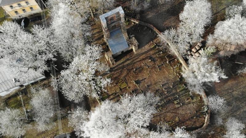 Zřícenina kostela v Mukařově 4km od Levína