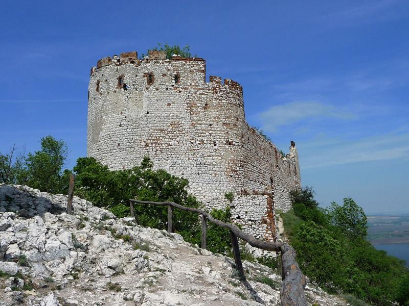 Pozůstatky hradních zdí