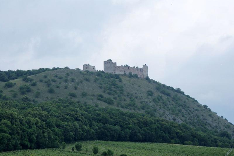 Zřícenina hradu Děvičky (Dívčí hrady)