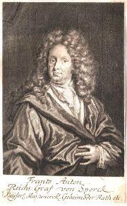 Portrét hraběte Františka Antonína Šporka z roku 1700