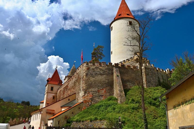 Nejkrásnějším českým hradem je pohádkový Křivoklát