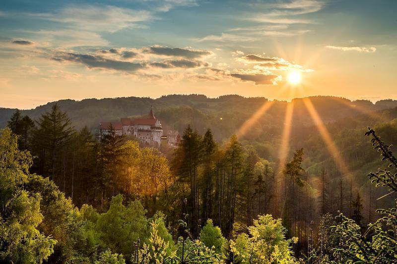 Nejkrásnější hrad na Moravě - Pernštejn