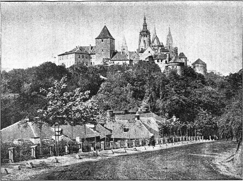 Pražský hrad v roce 1917