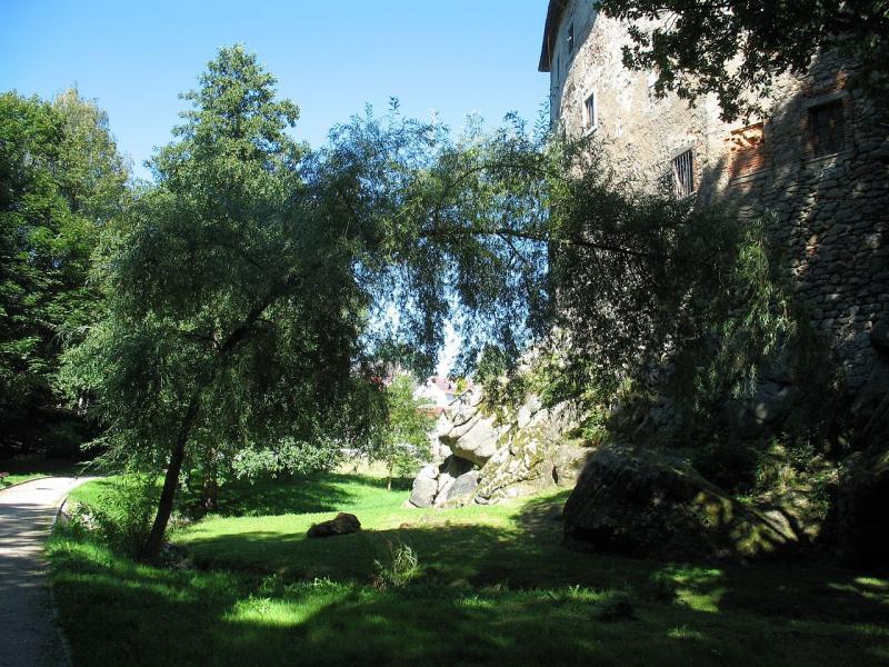 Vildštejnské podhradí