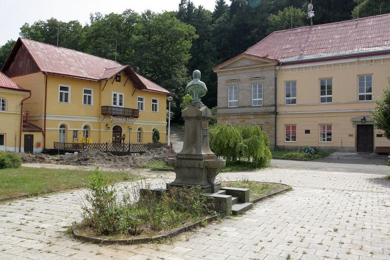 Lázeňský areál v roce 2013