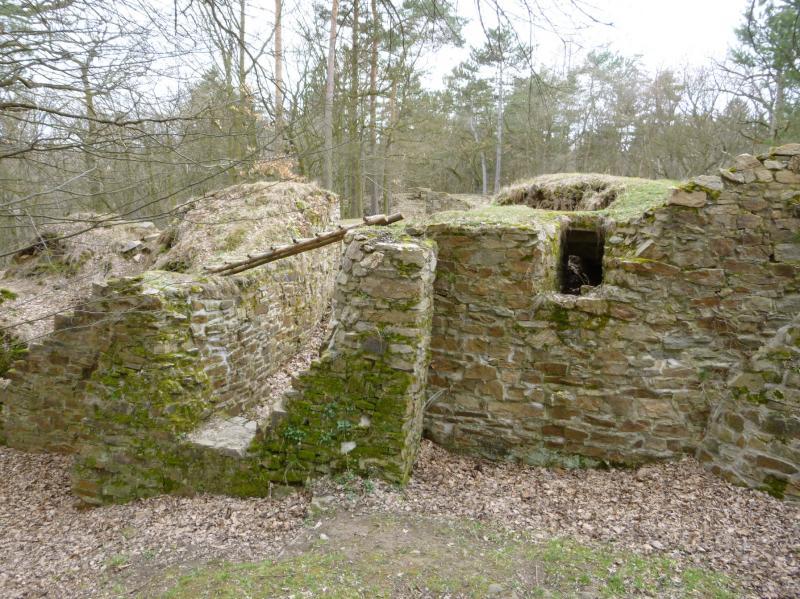 zřícenina hradu Sion