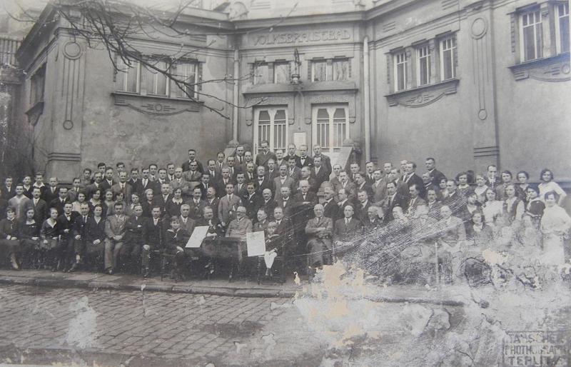 Lázně Teplice na počátku 20. století