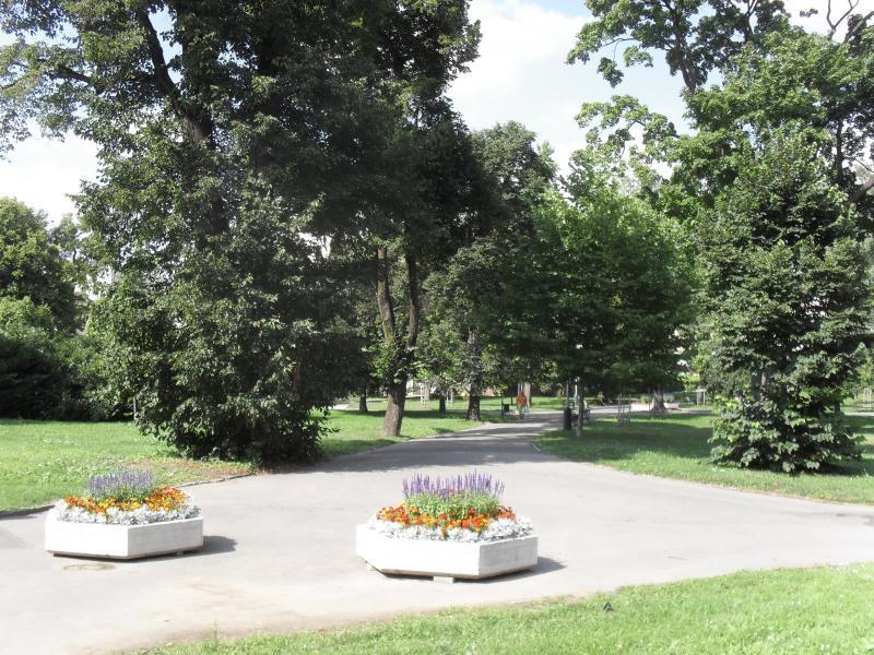 Lázeňský park v Teplicích