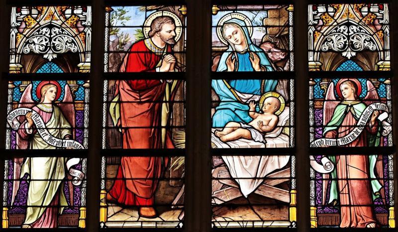 Okno v kostele