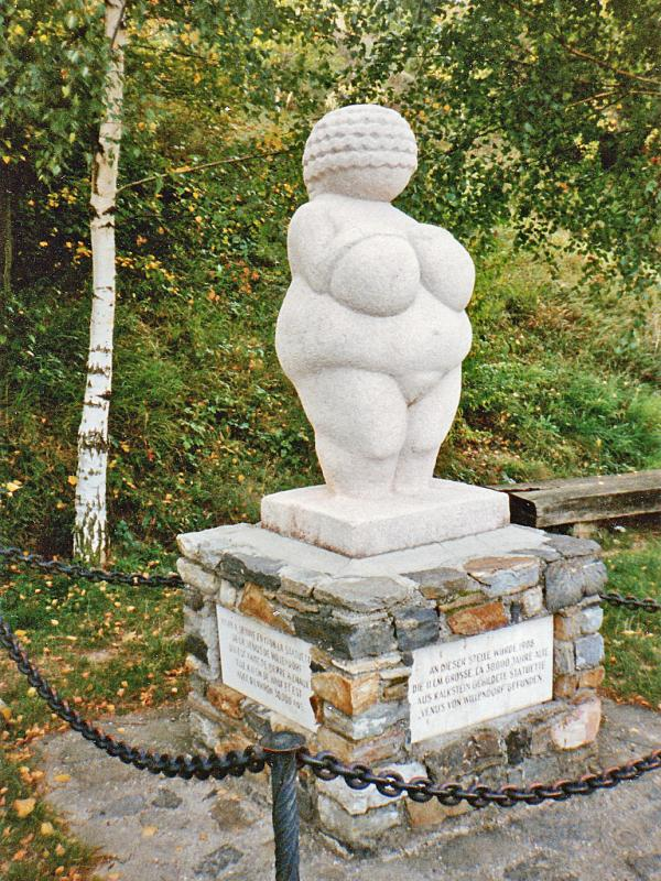 soška Willendorfské Venuše