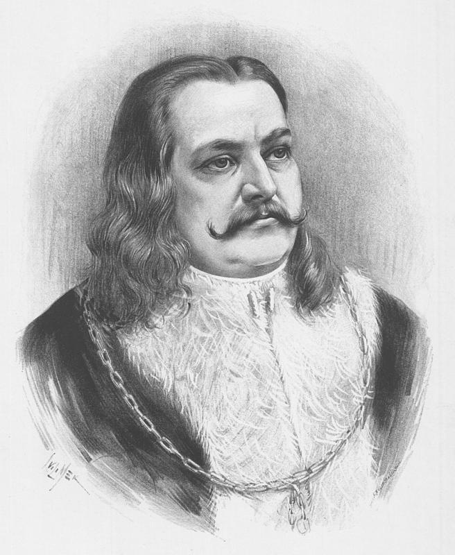 Portrét krále Jiřího z Poděbrad