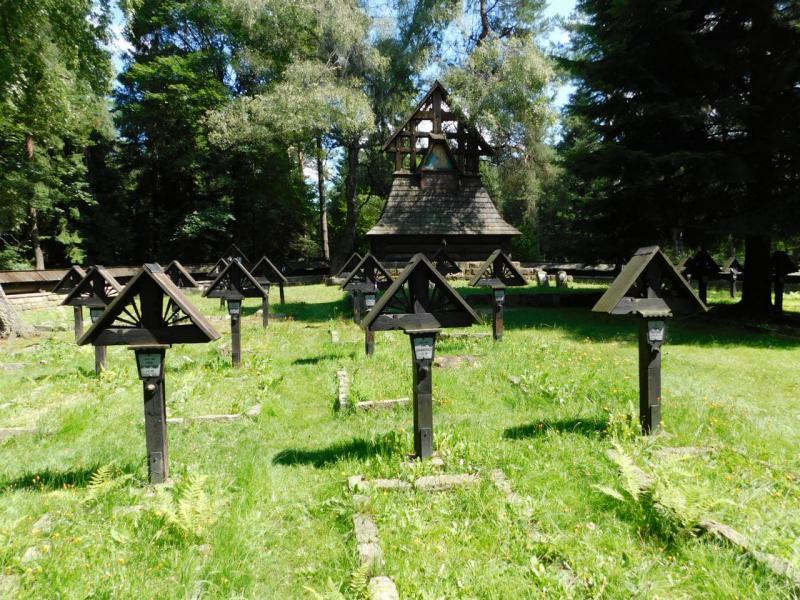 Hřbitov č. 60 - průsmyk Małastowska