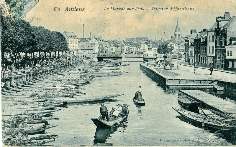 Vodní trh v Amiens