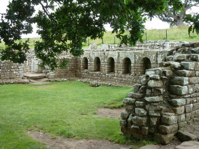 Římské lázně u pevnosti Chesters.