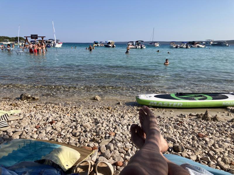 Pláž Meli, skutečná pohoda